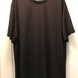 Van Heusen Mens 2XL Black Rayon Blend Casual